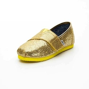 Toms 1Tmsk2014012 Renksiz Kız Çocuk Slip On Ayakkabı Renksiz